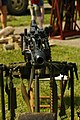 Military equipment replicas for WW2 re-enactment in Fort Harrison State Park, Lawrence, Indiana, US September 2008. German Machine Gun.jpg