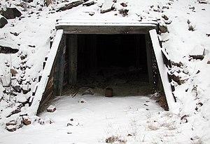 Basin, Montana -  Former entrance to the Hope-Katy mine complex (2007)