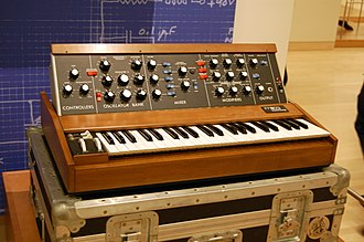 Minimoog - An early 1970s Minimoog Model D synthesizer