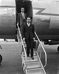 Minister van Financien van Italie Colombo op Schiphol, Bestanddeelnr 919-3920.jpg