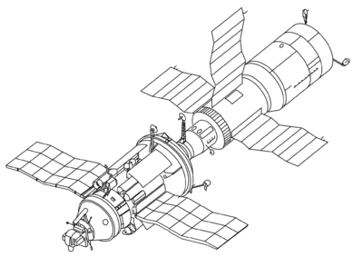 nasa facts russian space stations wikisource the free online library Soviet Sputnik mir 78
