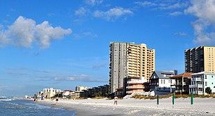 Oceanfront at Miramar Beach, Florida, September 2014.