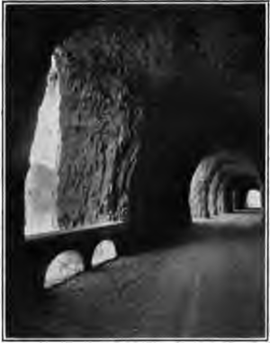 Mitchell Point Tunnel - Inside the tunnel