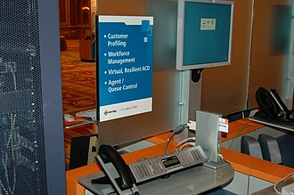 Mitel - Mitel and Sun Microsystems equipment showcased at a 2007 trade show