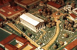 Model of ancient Olympia.jpg