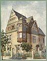 Moderne Villen in Meisteraquarellen Serie II Tafel 042 Köln Villa Stadtwaldgürtel 29.JPG