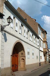 Molsheim - Maison de chanoines - 20 rue Jenner.JPG