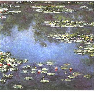 Nymphaea - Water Lilies by Claude Monet, 1906
