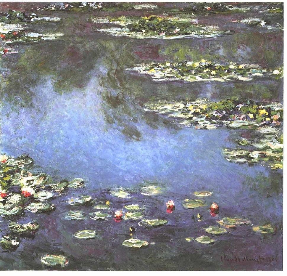 Monet - Seerosen 1906
