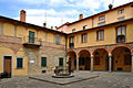 Monghidoro - Italy - cloister of St Michael Abbey (1530).jpg