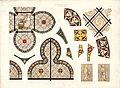 Monografie de la Cathedrale de Chartres - Atlas - Vitrail de la passage de la Sacristie - Paul Durand - Chromo-lithographie.jpg