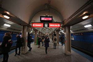 Monroe station (CTA Red Line) - Image: Monroe Station, CTA, Chicago