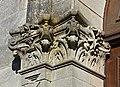 Montboyer 16 Église chapiteau du portail 2014.jpg