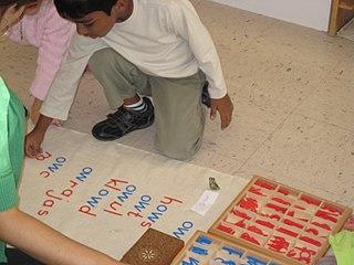 Montessori education Teaching method