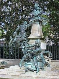 Monument à Delacroix by Jules Dalou, Paris 17 April 2016 002.jpg