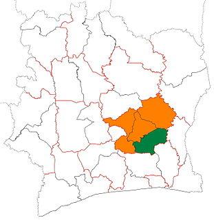 Moronou Region Region in Lacs, Ivory Coast