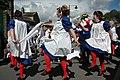 Morris dancers, Holmfirth (65106262).jpg