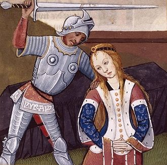 Polyxena - A Renaissance illustration of the killing of Polyxena in Boccaccio's De mulieribus claris