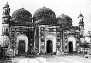 Motijhil - The mosque at Motijhil, 1801 (picture taken by C.B. Asher)