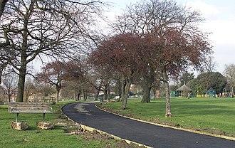 Mountsfield Park - Image: Mountsfield Park geograph.org.uk 376595