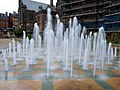 Moving fountains in the former Peace Gardens - geograph.org.uk - 702943.jpg