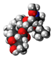 Moxidectin 3D spacefill.png