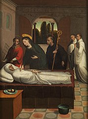 The Death of Saint Bernard