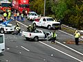 Multi vehicle accident - M4 Motorway, Sydney, NSW (8076138064).jpg