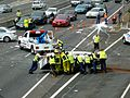 Multi vehicle accident - M4 Motorway, Sydney, NSW (8076153566).jpg