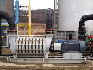 Centrifugal pump - Image: Multistage centrifugal pump