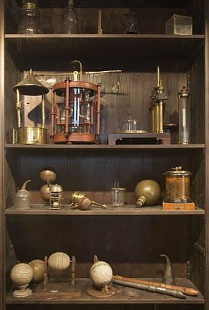 Paraphernalia - Assorted 18th- and 19th-century tools, instruments, and old fashioned paraphernalia, Deutsches Museum, Munich, Germany