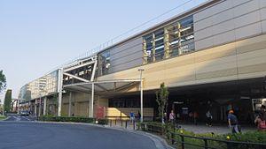 Musashi-Sakai Station - North gate of Musashi-Sakai Station, May 2016