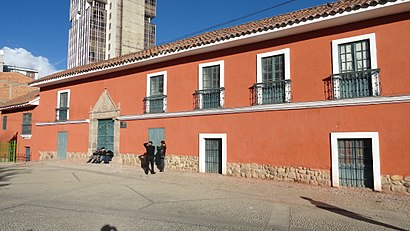 How to get to Museo Tambo Quirquincho with public transit - About the place