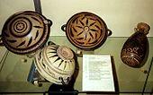 Ceramiche risalenti al 580 a.C.