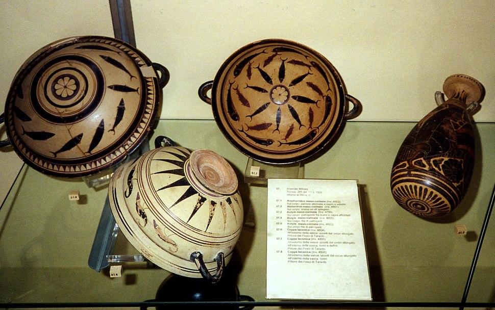 Museo Nazionale Taranto Ceramics