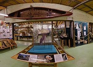 Museum of the Sea (Uruguay) - Image: Museo del Mar Sala principal