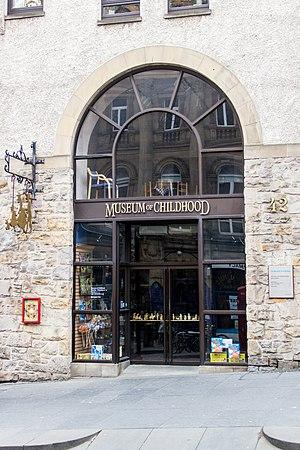Museum of Childhood (Edinburgh) - Image: Museum of Childhood, Edinburg