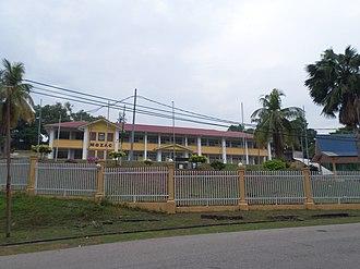 SMS Muzaffar Syah - Alumni building.
