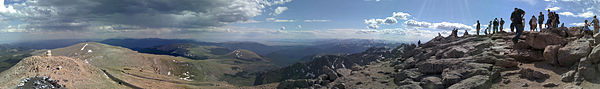 My. Evans, Colorado summit panorama.jpg
