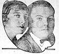 Myrtle Stedman-Lincoln Stedman - 1922 newspaper.jpg