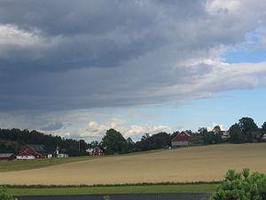 Vestfold - Nøtterøy agricultural landscape in 2007