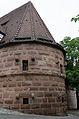 Nürnberg, Stadtmauer, Mauerturm Schwarzes B, 001.jpg