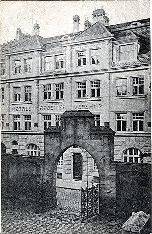 German Metal Workers' Union - The DMV's building in Nuremberg