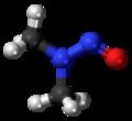 N-Nitrosodimethylamine molecule ball.png