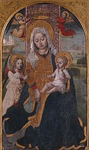 N. Corso - Madonna met kind en engelen - NK1499 - Cultural Heritage Agency of the Netherlands Art Collection.jpg