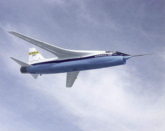 Supercritical airfoil - NASA TF-8A in 1973