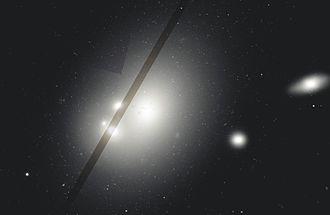 NGC 6166 - Image: NGC 6166 Wiki ACS 475 814 WFPC2 555