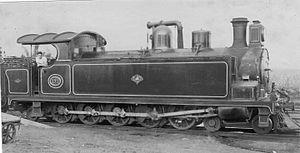 South African Class H 4-10-2T - NGR Class C no. 171 c. 1903, SAR Class H no. 253