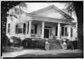 NORTH ELEVATION (FRONT) - C. W. Dunlap House, 237 Wilson Avenue, Eutaw, Greene County, AL HABS ALA,32-EUTA,12-1.tif