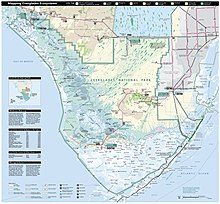 Florida Parks Map.Everglades National Park Wikipedia